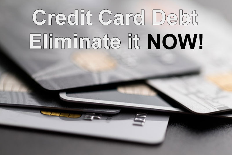 Become free of credit card debt!